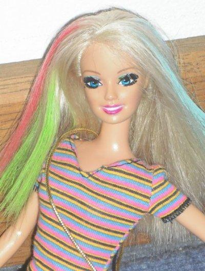 ma barbie ooak raimbow !!!