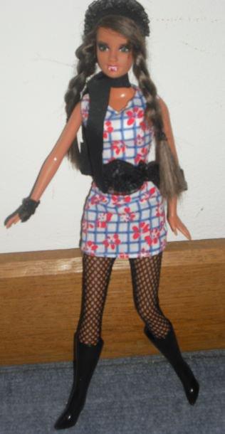ma barbie ooak vmpirela !!!