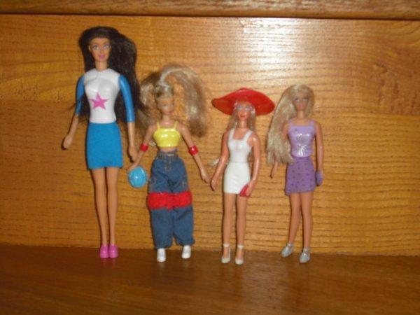 mini barbie a vendre !