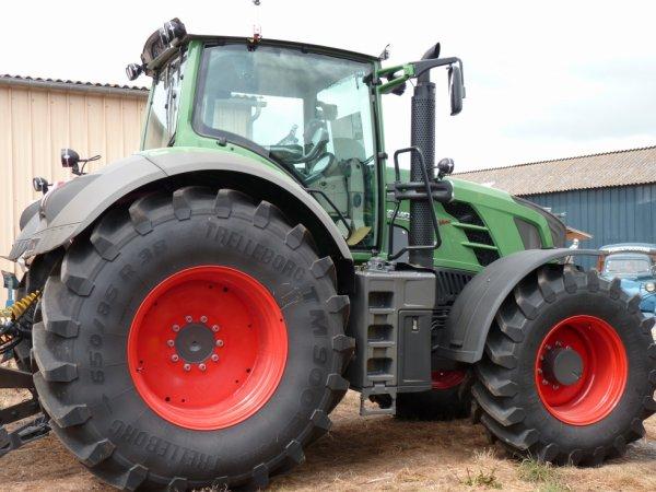 tracteur fendt 822