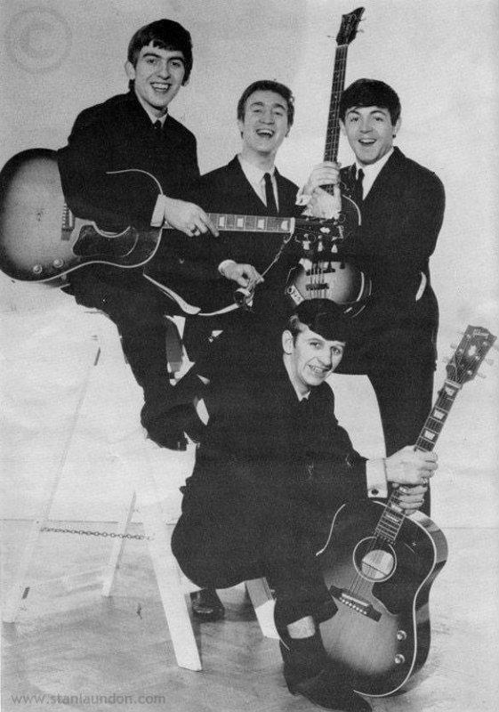 1963 LES BEATLES A LA CONQUETE DU MONDE