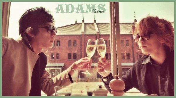 «  Je veux tenir ta main, comme cela, pour toujours [...] Je suis fou de toi, je me perds en toi. » ____________________ ADAMS - Dizzy Love ~Kimi ni muchuu~