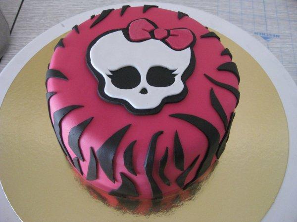 Gâteau Monster High