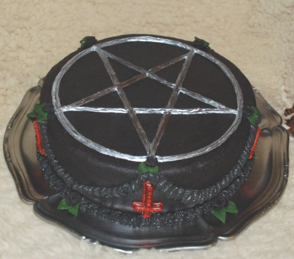Gâteau pentacle