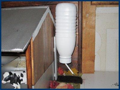 Voici le nouveau réservoir à grain de la ferme!