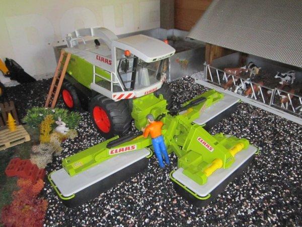 Préparation des machines pour la saison des fenaisons !