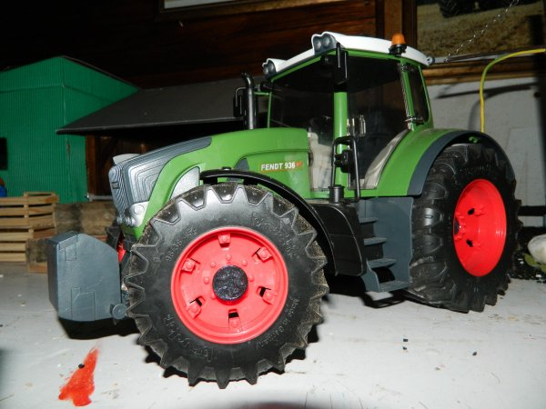 Petite modification du fendt :