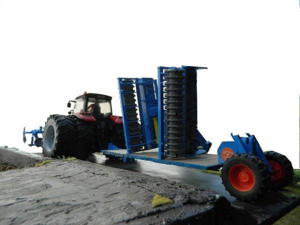 Préparation des terres à PDT