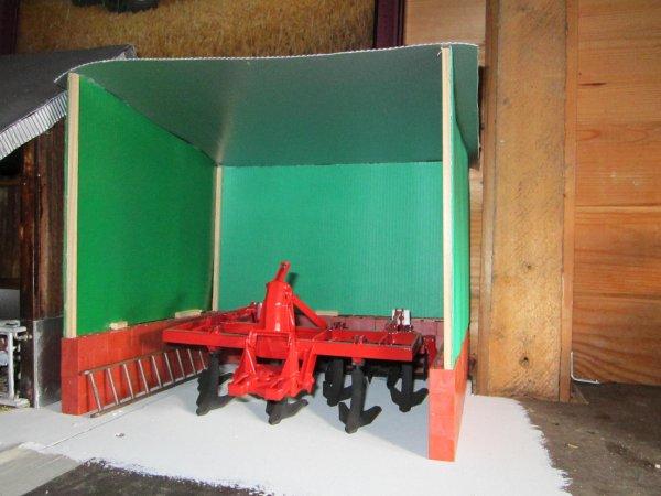 Bâtiment agricole :