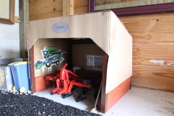 Un atelier a vu le jour à la ferme !