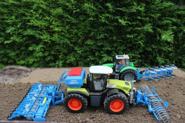 Labour et semis de blé :