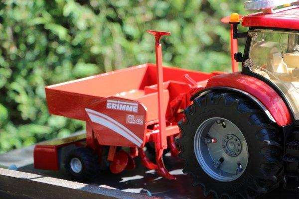 Nouvelle planteuse pour la saison prochaine ... Grimme GL420 8-p