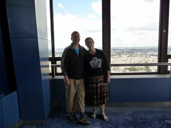 le 16 juin 2010 en haut de la tour montparnasse