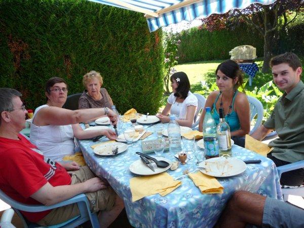 vacances un week-end chez brigitte en famille