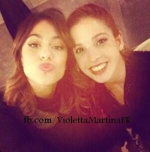 Martina et Candelaria!!