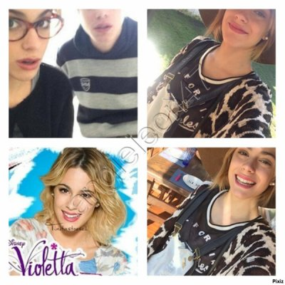 news photos. !!!  leonetta et news photos tini ! a remixer !!