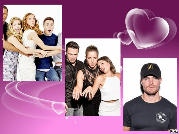 news arrow/violetta!!!!!!!!!!!!!!