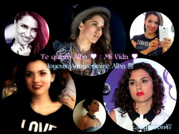 Remixe  pour l 'anniversaire  de Alba Ricoo ♥