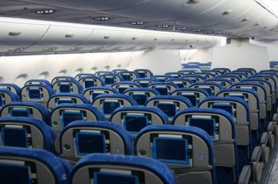 Interieur d 39 un avion les makette avion for Avion jetairfly interieur