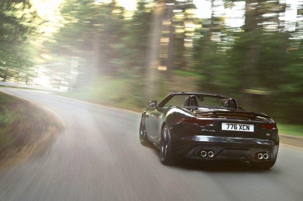 La jaguar F type