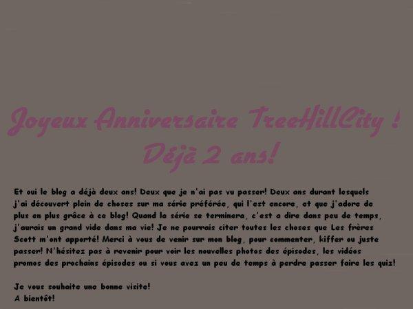 JOYEUX ANNIVERSAIRE TREEHILLCITY!!!!