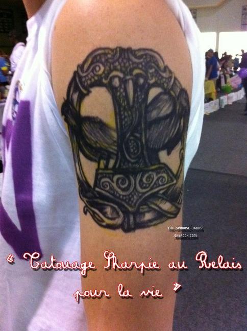 . . 30/10/12 Le tatouage de Dylan ! . .