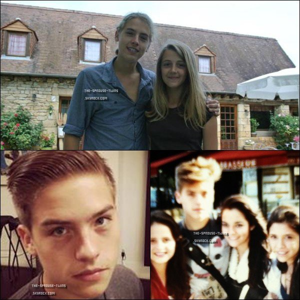 . 25 juin 2012 ~ Eh oui Dylan & Cole sont en France ! Dylan apparaît beaucoup plus sur les photos que son frère, il y en aura donc très peu de Cole :(  .