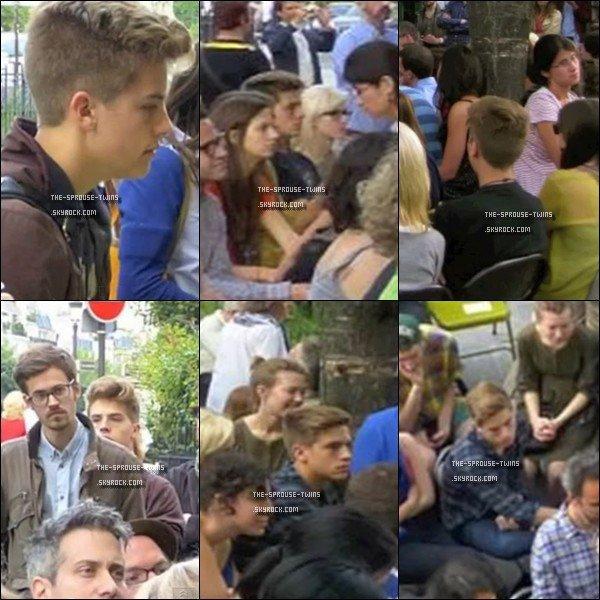 . 29 juillet 2012 ~ Déplacements des jumeaux, enfin surtout Dylan, en France .