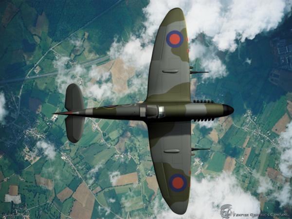 spitfire Mk XVI NR - Nada Surf Popular