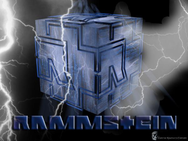 logo ramstein by 3dmirror - Rammstein - Keine Lust