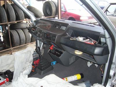 Montage gt turbo f2000 gt turbo en rallye for Super 5 tableau de bord