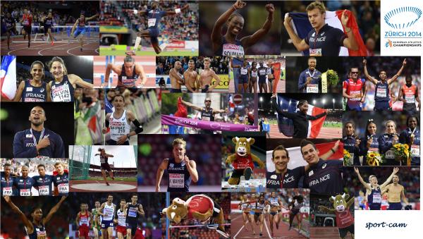 Championnats d'Europe d'Athlétisme à Zürich