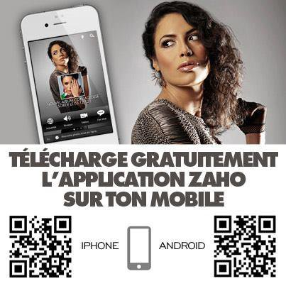 Suivez également l'actualité de Zaho sur votre smartphone .