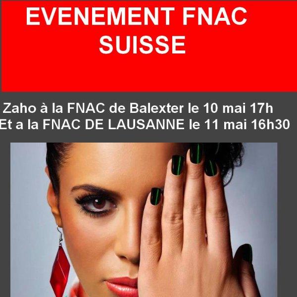EVENEMENT FNAC SUISSE
