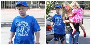 Le 23 Octobre Jaime ( la femme de David ) a été vu avec ses deux enfants : Jaden 9 ans et Bella 2 ans dans Woodland Hills en Californie !