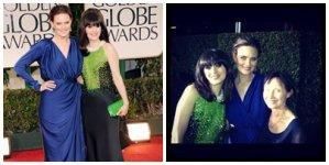 • • Emily était hier ( le 15 ) au Golden Globes 2012 ! On peut voir qu'il y avait sa soeur Zooey Deschanel ( Zooey était d'ailleurs nominée mais n'a rien remporté ) et qu'il y avait aussi sa mère Mary Jo Deschanel ! Emily a aussi posé en compagnie de sarah michelle gellar ! A noté que c'est la première sortie d'Emily depuis qu'elle a accouché ! Alors ton avis TOP/FLOP ?  • •
