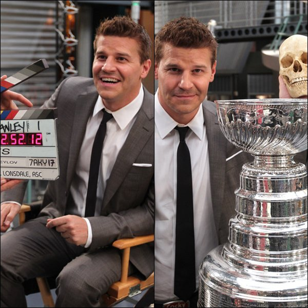 "• • The Stanley Cup Appears On The Set of ""Bones"" - 02 Mai 2012 • •"