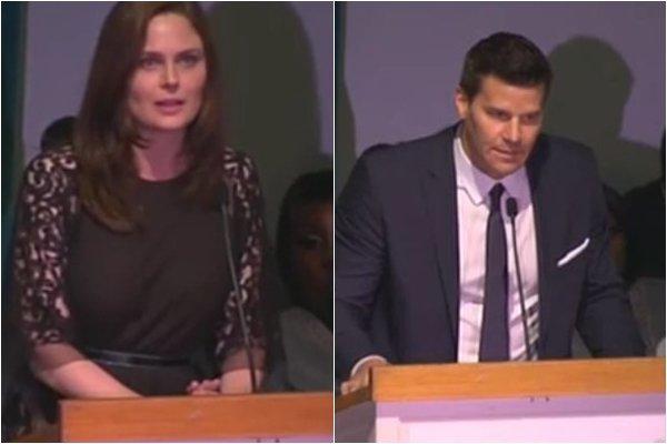 • •  Emily, David et HH étaient à la cérémonie qui rendait hommage à Michael Clarke Duncan décédé la semaine dernière.  • •