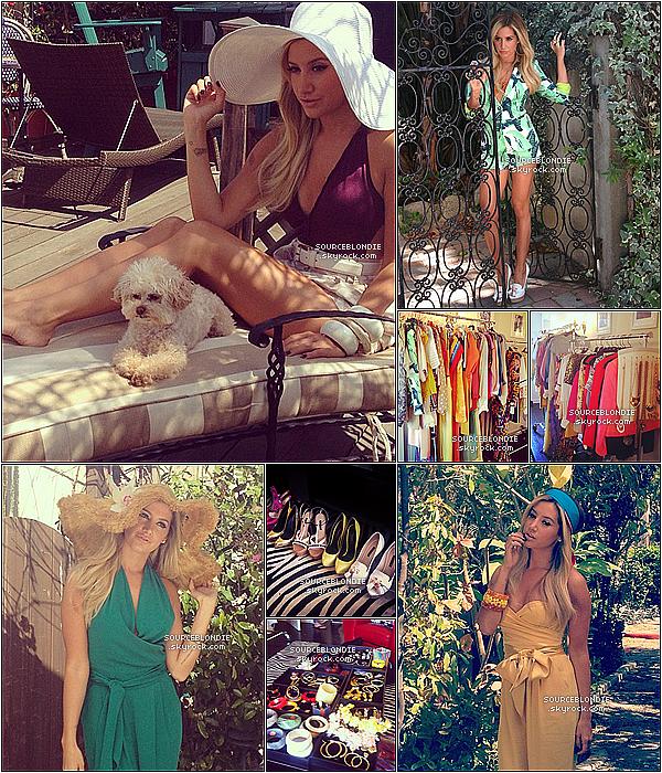 """- → Découvrez les coulisses d'un superbe photoshoot fait par Ashley pour """" Maniac Magazine """". -"""