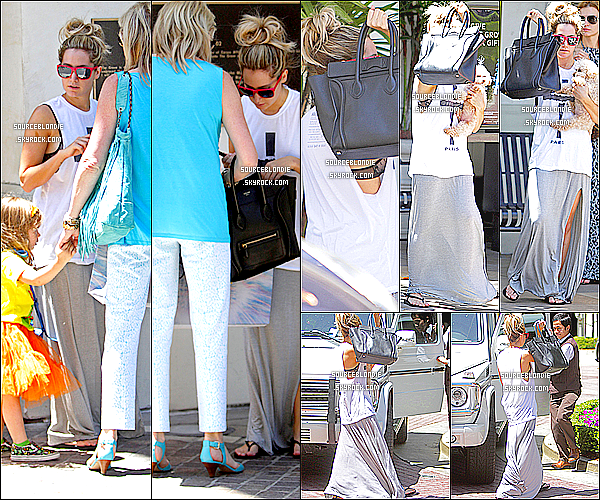 - 29/05/13 → Ashley, sa mere & sa niece Mikayla ont ete aller faire du shopping dans The Grove a L.A. -