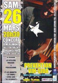 Affiche de concert - 26 Mars 2011