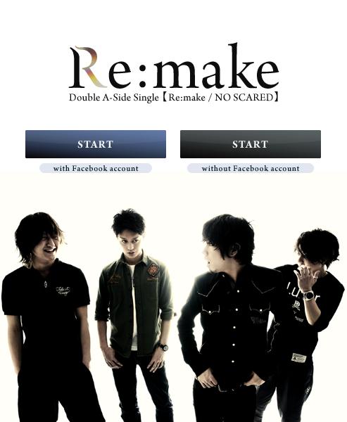 Re:make/NO SCARED / ONE OK ROCK - Re:make (2011)