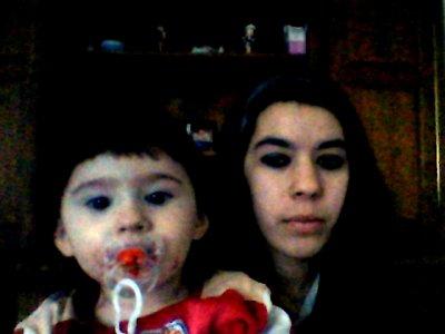 ma petite filleule d'amour et moi !!!