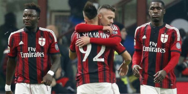 2014 Série A J12 AC MILAN INTER 1-1, le 24/11/2014