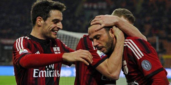 2014 Copa Italia 8ème AC MILAN SASSUOLO 2-1, le 13/01/2015