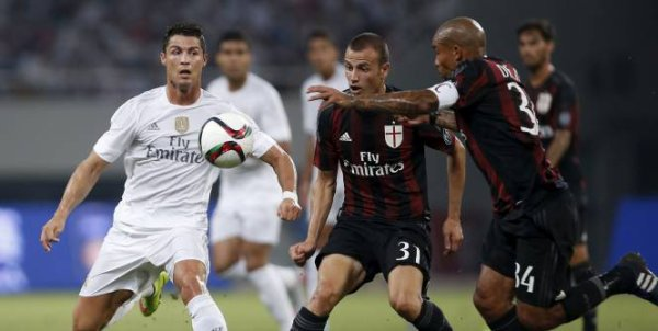 2015 AMICAL AC MILAN REAL MADRID 0-0 ( 9-10 tab ) , le 31/07/2015