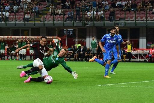 2015 Série A J02 AC MILAN EMPOLI 2-1, le 29/08/2015