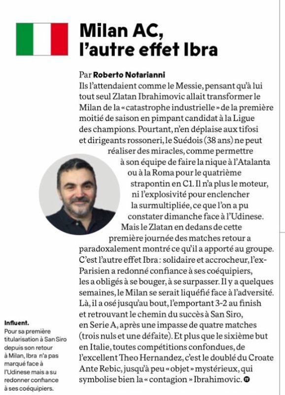 2019 Série A J20 AC MILAN UDINESE 3-2, le 19/01/2020