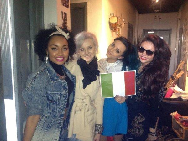 Little Mix vont en Italie ?