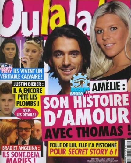 RETRO SECRET STORY : Amélie ( Secret Story 4 ) et son histoire d'amour avec Thomas